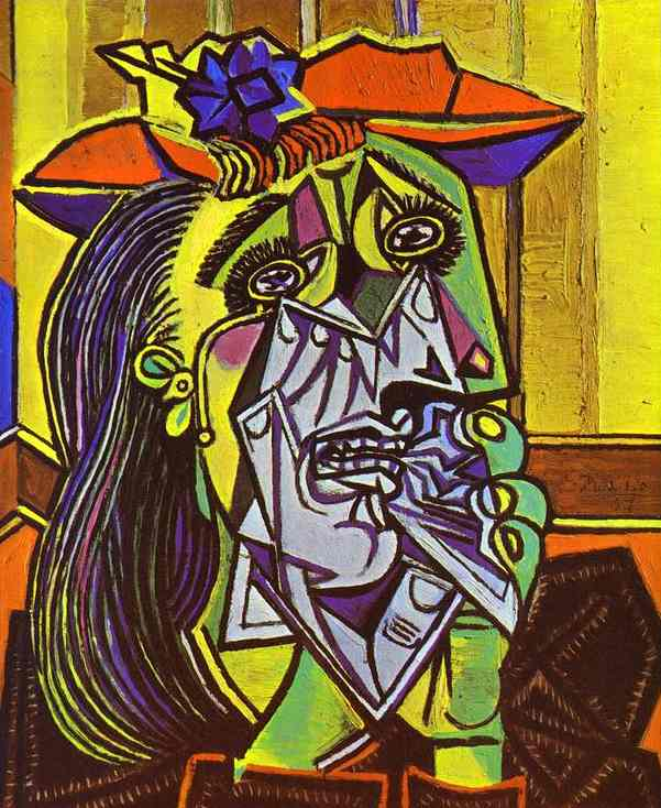 Picasso: Weeping Woman 1937